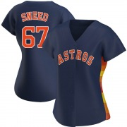 Cy Sneed Women's Houston Astros Alternate Jersey - Navy Authentic